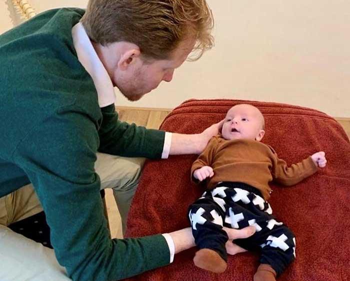 Ook baby's hebben veel baat bij wat een osteopaat doet